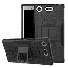 Hybrid Case 2teilig Outdoor Schwarz Tasche Hülle für Sony Xperia XZ1 Compact Neu