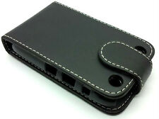 Extra Fine Protective Leather Flip Pouch Case Cover BlackBerry Curve 9320 9220