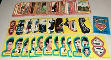 1981 Topps~Superman 2nd Movie ~Complete Set ~ 88 Cards / 22 Stickers