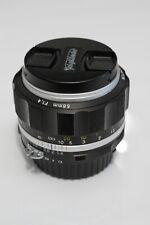 Voigtlander NOKTON 58mm F1.4 SLIIS Black Nikon F mount
