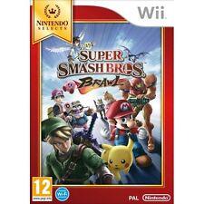Super Smash Bros Brawl Game Wii Nintendo Wii PAL Brand New