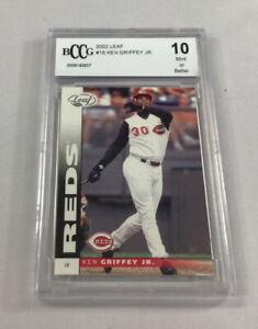 2002 Leaf #18 Ken Griffey Jr BCCG 10 (Mint) 0008140937