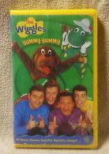 THE WIGGLES YUMMY YUMMY Children's Vhs Video Tape Lyrick Studios 14 Songs Music