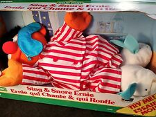 Vintage Sing & Snore Ernie from Tyco 1996 ~ New In Box ~ Sesame Street