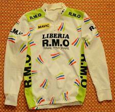 Liberia R.M.O. Vintage long sleeve Cycling Shirt, Mens Large - Medium
