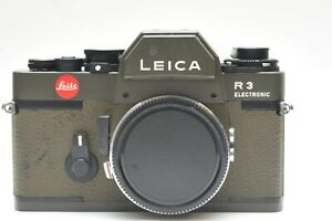 Leica R3 Safari Green 35mm SLR Film Camera #1484883