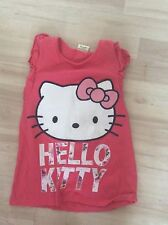 HELLO KITTY AGE 9 YEARS, 134CM, PINK SLEEVELESS TOP, EXCELLENT CONDITION, TU