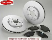 FOR MERCEDES B CLASS B180CDi B200 CDi FRONT BRAKE DISCS SET AND DISC PADS KIT