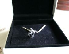 Pandora Sterling Silver 925 .Crown Charm with Chain New in Box