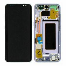 Samsung Galaxy S8 G950 SM-G950F LCD Display Touch Screen Digitizer Silver Frame
