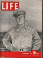 Life September 17 1945 Commander of Japan Vintage WWII Ads 081919AME