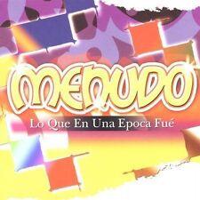 Lo Que en Una Epoca Fue by Menudo (CD, Jul-2005, Sony BMG)