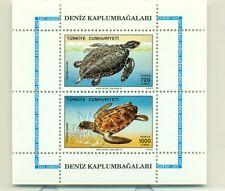 TARTARUGHE - TURTLES TURKEY 1989 block