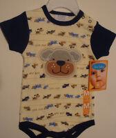 INFANT BOYS HOLIDAY//CHRISTMAS SANTAS LITTLE HELPER  1PC CREEPER   03//-6//9 MONTHS