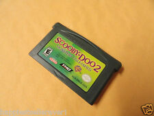 Scooby-Doo 2 Monsters Unleashed Nintendo Advance Game Boy System GameBoy