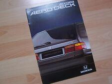 Catalogue / Brochure HONDA Accord Aero Deck 1992 / 1993 //