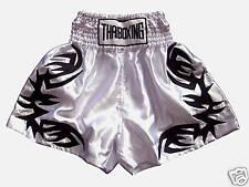 Muay Thai Kick Boxing Shorts Muaythai Satin