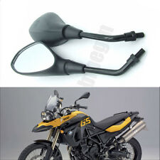Universal Motorcycle 10mm Black Rear View Side Mirror For Honda Suzuki Kawasaki