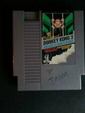 Authentic Nintendo NES Donkey Kong 3 Arcade Classics Tested Working