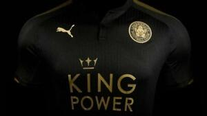 MENS PUMA FC LEICESTER CITY 2017/2018 AWAY SOCCER FOOTBALL SHIRT JERSEY SIZE 2XL