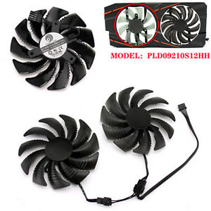 For Gigabyte GTX 1060 1070 T129215SU/PLD09210S12HH Cooling Fan Replacement