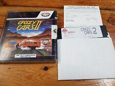 PC crazy cars II Titus software 1988 edición  española