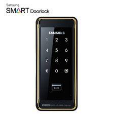 SAMSUNG Drop Bolt Keyless Digital Door Rim Lock SHS-D500 + 2 keytags / Express