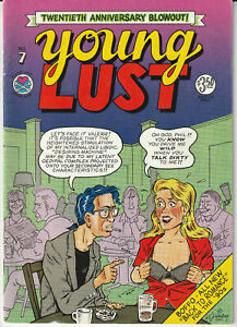 Underground Comic: Young Lust #7 Last Gasp 1990