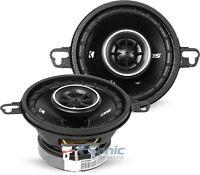 """2) Kicker 43DSC3504 3-1/2"""" 3.5"""" 80W 2-Way Car Audio Speakers DSC35 DS35 Coaxial"""