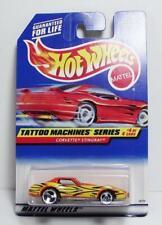 Hot Wheels  Corvette Stingray  Tattoo Machines Series #4 of 4  N