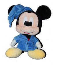 Peluche Mickey Grosse tête 45 cm Disney Nicotoy - Peignoir bleu Robe de Chambre