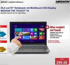 "299€ 10"" MEDION AKOYA E1318T TOUCH Netbook Laptop 4GB RAM USB3.0 Windows10 ☆ TOP"