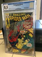 Amazing Spider-man #98, VF+ 8.5 CGC, No Comics Code, Drug Issue, Green Goblin
