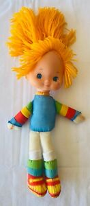 RAINBOW BRITE Doll Toy Figure VINTAGE 1983 Mattel Hallmark 30cm FREE POST