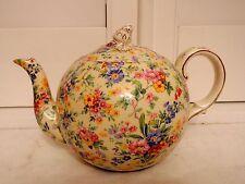 Vintage Royal Winton Chintz Floral Feast Elite Teapot 1930's