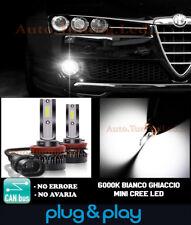 ALFA ROMEO 159 FENDINEBBIA LAMPADE A LED CREE 8000LM BIANCO GHIACCIO