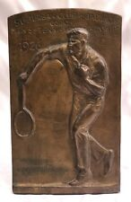 Magnificent 1926 Bronze Baltimore Mens Tennis Championship Club Award