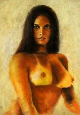 "Gary Adelman, ""Nude II"", 16.5x23.5, Original, Pastel"