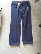 New Admiral Navy  Jog Bottoms  Cuffed Hem  Pants Size 14