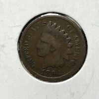 1894 1c INDIAN HEAD CENT *NICE FULL RIM GOOD COIN* LOT#AI36