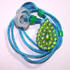 ADULTS Seniors 2 Hearing Aids longer Leash RETAINER CLIP against loss GREEN BLUE