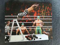 Hornswoggle Autographed Wrestling Photo Highspots COA WWF WWE NWA AEW Impact