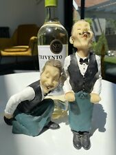 More details for waiter statue pair of