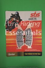 SBS 694 HS FR ZERO DS ZF11.4 2013 FRONT BRAKE PADS