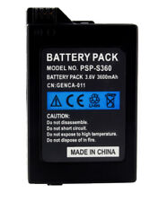Akku Battery Batterie Li-ion 3600mAh für PSP Slim 2000 3000 Top-Qualität