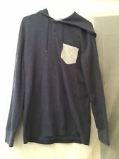 Men's  Quiksilver Long Sleeve Hoddie Thermo Top Size M.