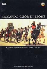 RICCARDO CUOR DI LEONE - TERZA CROCIATA - DVDTECA IL GIORNALE - MEDIOEVO DVD