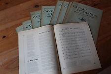 LOT Revue LE CAVEAU STEPHANOIS - Union poétique du FOREZ - Chansons, poèmes 1908