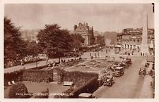 HARROGATE, PARLIAMENT STREET - POSTED 1929 ~ AN OLD REAL PHOTO POSTCARD #212112