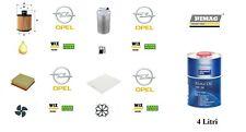 Kit Tagliando Opel Corsa D 1.3 CDTi 95 Hp 70 Kw + 4 Litri Olio Opel 5W30